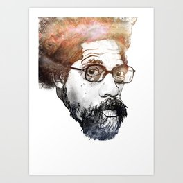 Dr. Cornel Ronald West (born June 2, 1953) Art Print