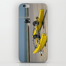 Face à la mer iPhone Skin