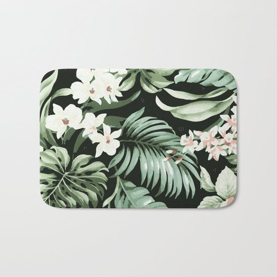 Jungle blush Bath Mat