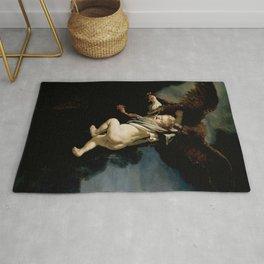 Abduction of Ganymede Rug