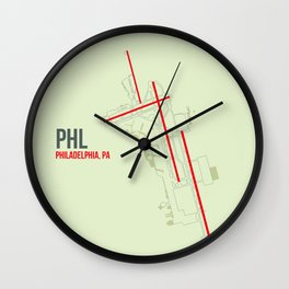 PHL Wall Clock