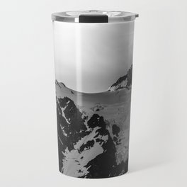 Shuksan Shine Black and White Travel Mug