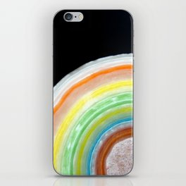 Colorful Abstract Slice of Giant Jawbreaker Candy iPhone Skin