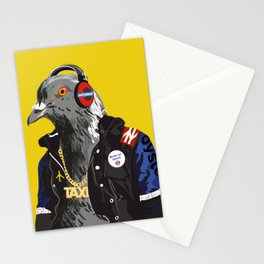 London Pigeon Stationery Cards