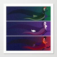 hocus pocus Canvas Prints featuring Hocus Pocus by Love Ashley Designs