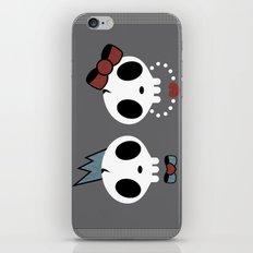 punk rawk couple iPhone & iPod Skin