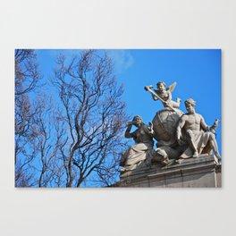 Statues Canvas Print