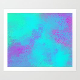 Why not Pink Art Print