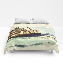 shipwreck aqrefn Comforters