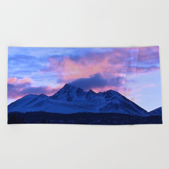 Serenity Rose Sunrise III Beach Towel