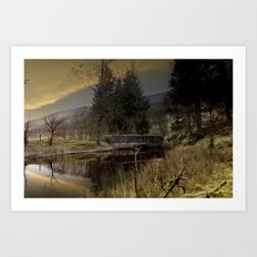 West End Bridge Art Print