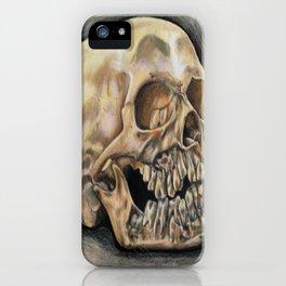 Skull Color Pencil  iPhone Case