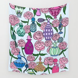 Perfume and Peonies Wall Tapestry