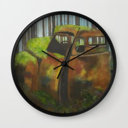 Old Jalopy Wall Clock