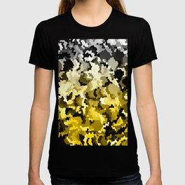 Golden crystals print T-shirt