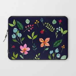 All Things Bright - Navy Laptop Sleeve