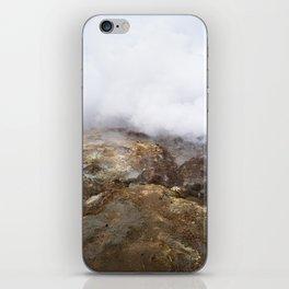 geothermal steam iPhone Skin
