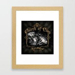 Knucklehead Framed Art Print