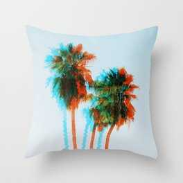 King Palms Throw Pillow