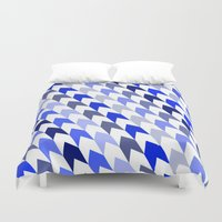 arrows Duvet Covers featuring arrows by haroulita