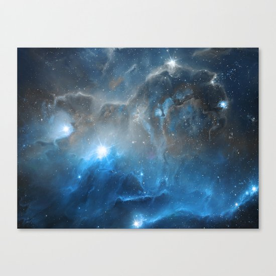 Ice, Dust and a Billion of Stars Canvas Print