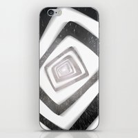 persona 4 iPhone & iPod Skins featuring Into the TV (Persona 4) by ASHPLUS