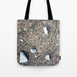 Cement Detritus Tote Bag