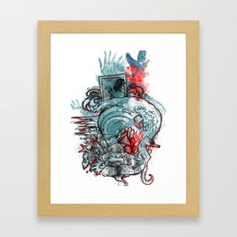 The Other Way Out Framed Art Print