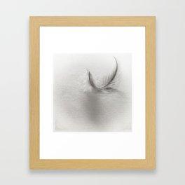 feather light Framed Art Print