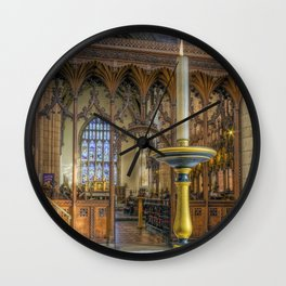 Candle Of Hope Wall Clock