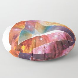 Galactic Triangles : The Otherside Floor Pillow