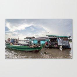 Chong Khneas Floating Village VIII, Siem Reap, Cambodia Canvas Print