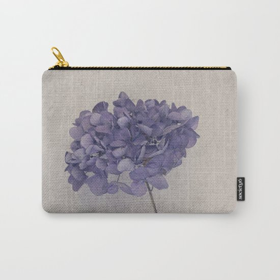 Dried Blue Hydrangea II Carry-All Pouch