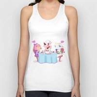animal crossing Tank Tops featuring Animal Crossing :: Cake time by Magnta