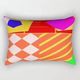 Akai Michin Dachi Rectangular Pillow
