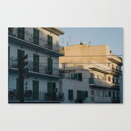 Sunset in Ibiza Canvas Print