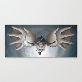 Sasuke Uchiha Curse Mark Release State Canvas Print