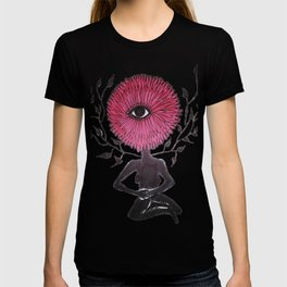 Divine Flower Woman T-shirt