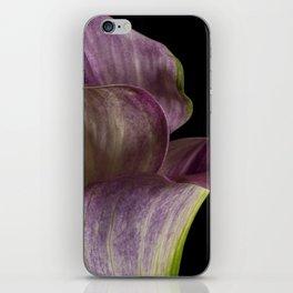 Purple Calla Lily Flowers iPhone Skin