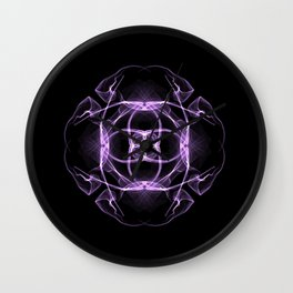 PurpleCircle Wall Clock
