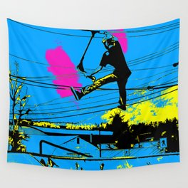 Tailgating - Stunt Scooter Tricks Wall Tapestry