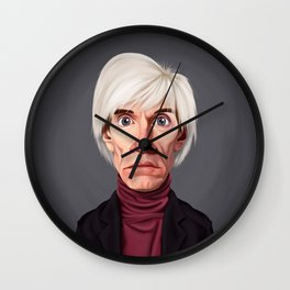 Celebrity Sunday ~ Andy Warhola Wall Clock