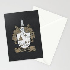 Champion Crest Stationery Cards
