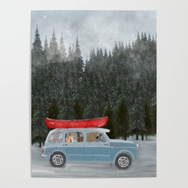 winter holiday Poster