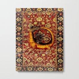 Ourobos Dragon - Garden of Beasts Collection Metal Print