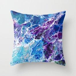 Iridescent Mermaid Throw Pillow