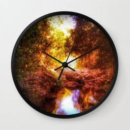 spirits in the water Wall Clock