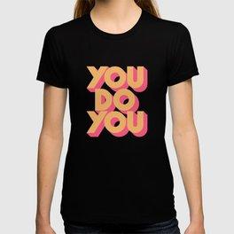 You Do You Retro Blue T-shirt
