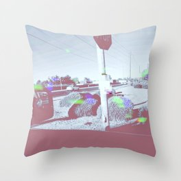 Modern Problems  (LOST DRONE) Throw Pillow