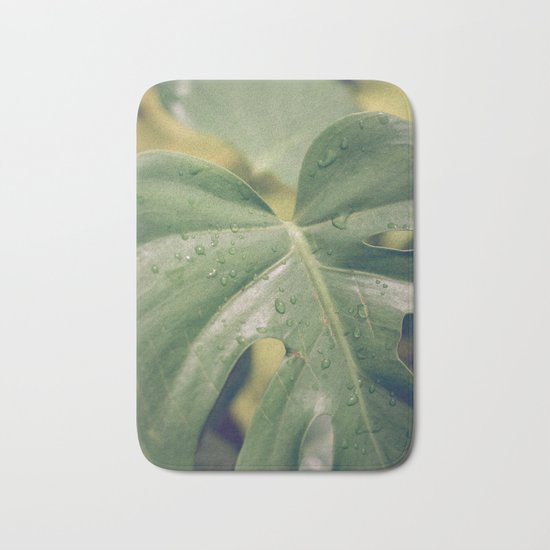 Philomena Philodendron Bath Mat